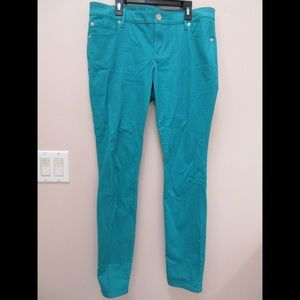 Turquoise Express Pants
